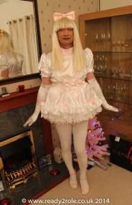 BonBon Sissy Satin Dress - Sam