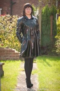 PVC Coat - Leanne