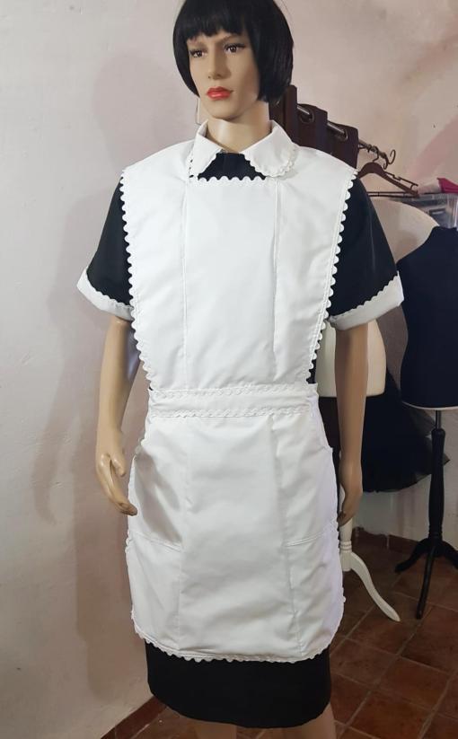 swan sissy maid dress