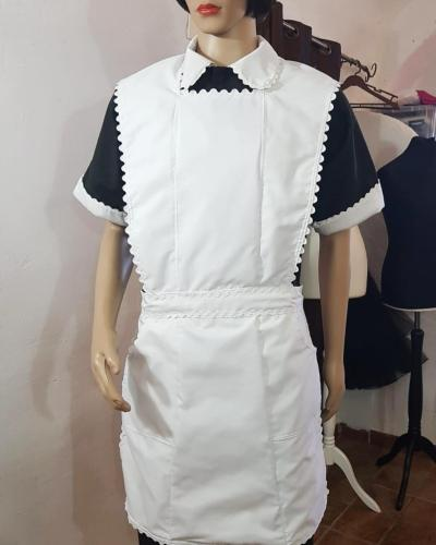 swan sissy maid dress