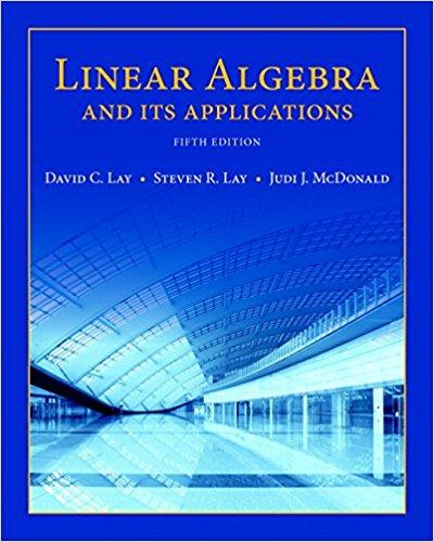 David C Lay Linear Algebra Pdf