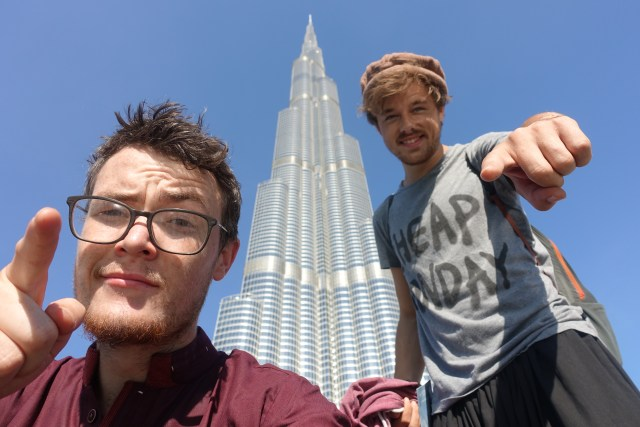 Making use of a 24 stop over in Dubai to enjoy the Burj Khalifa