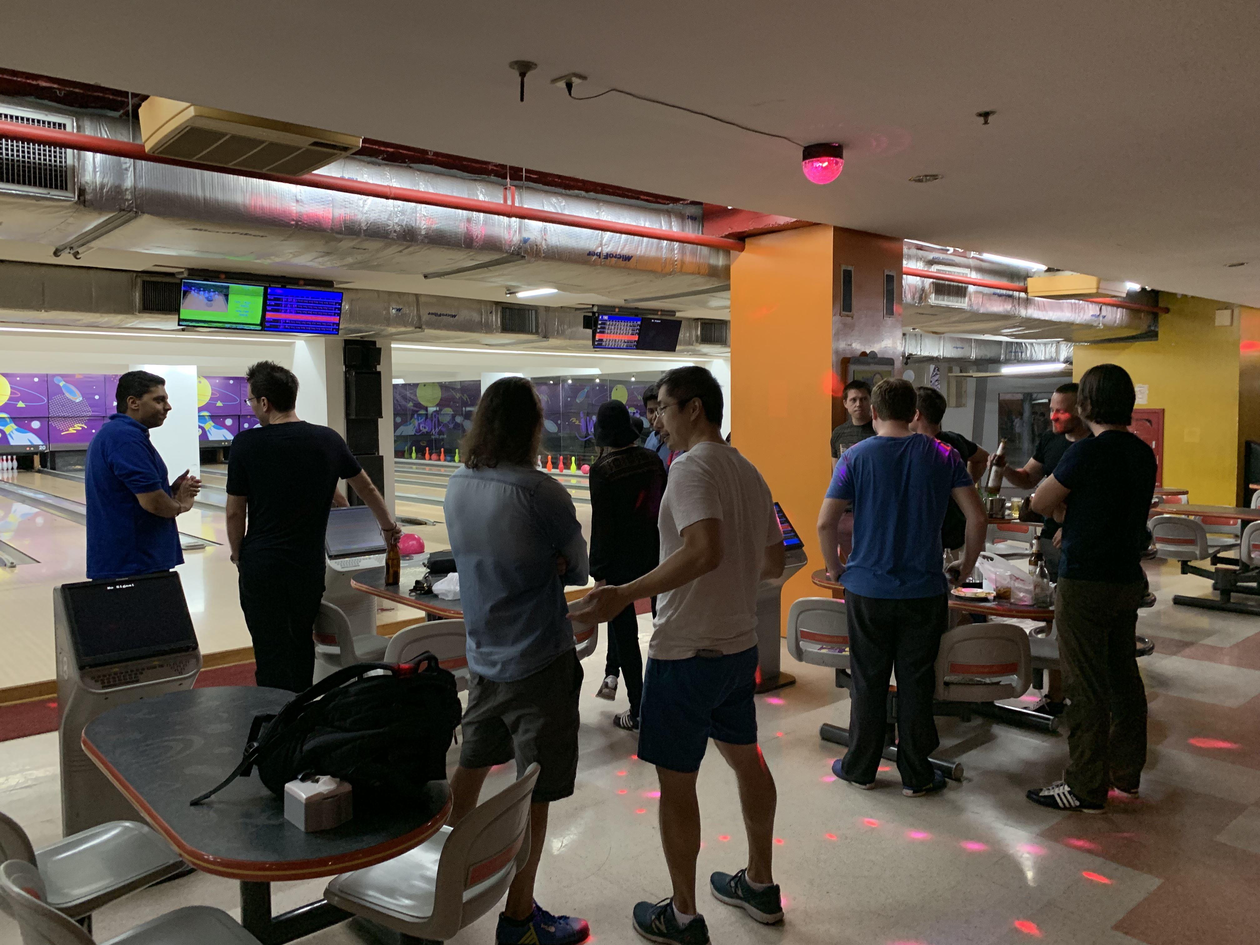 Chiang Mai digital nomad bowling