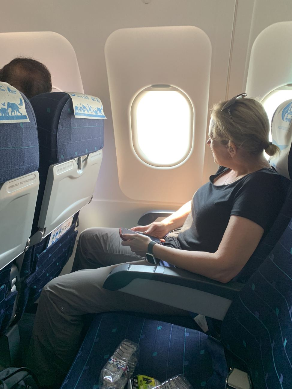 bangkok airlines coach seat