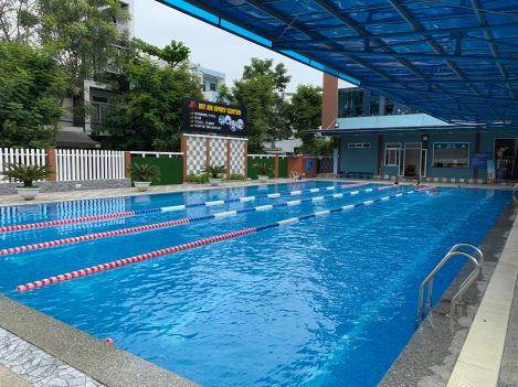 My An Sports Center public swimming pool Da Nang