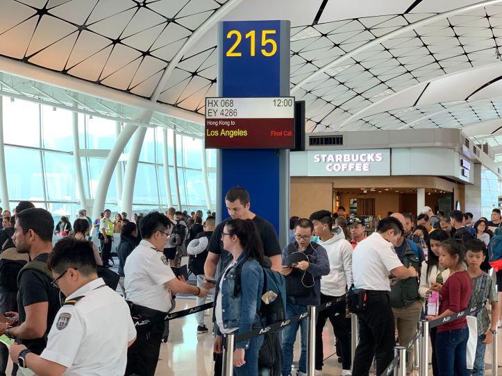 Hong Kong Airlines Bangkok to Los Angeles