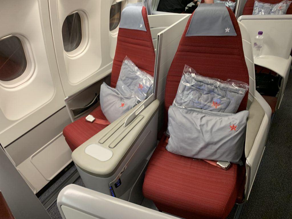 Hong Kong Airlines A330 Business Class Seats