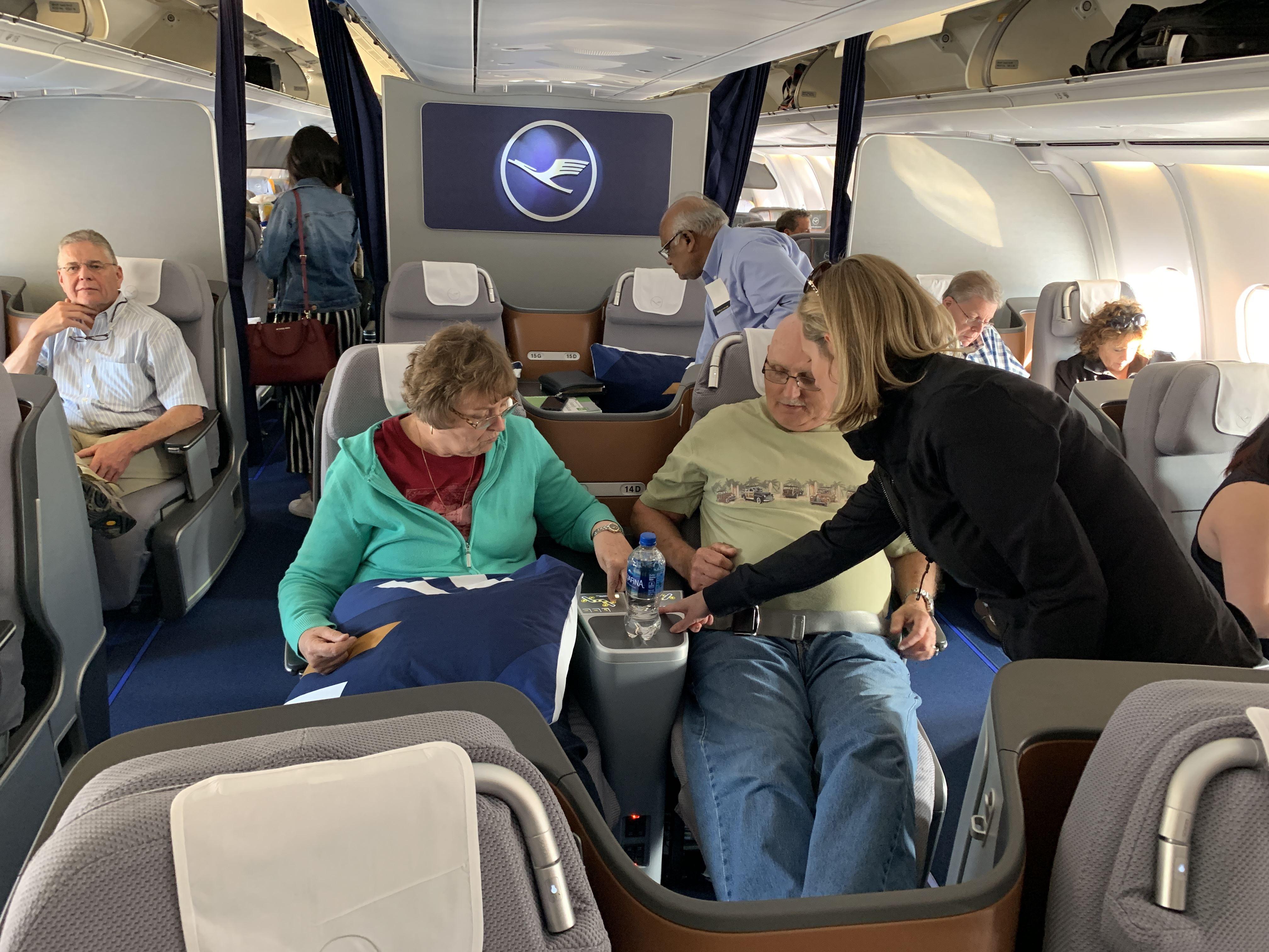 LH A340 Business Class