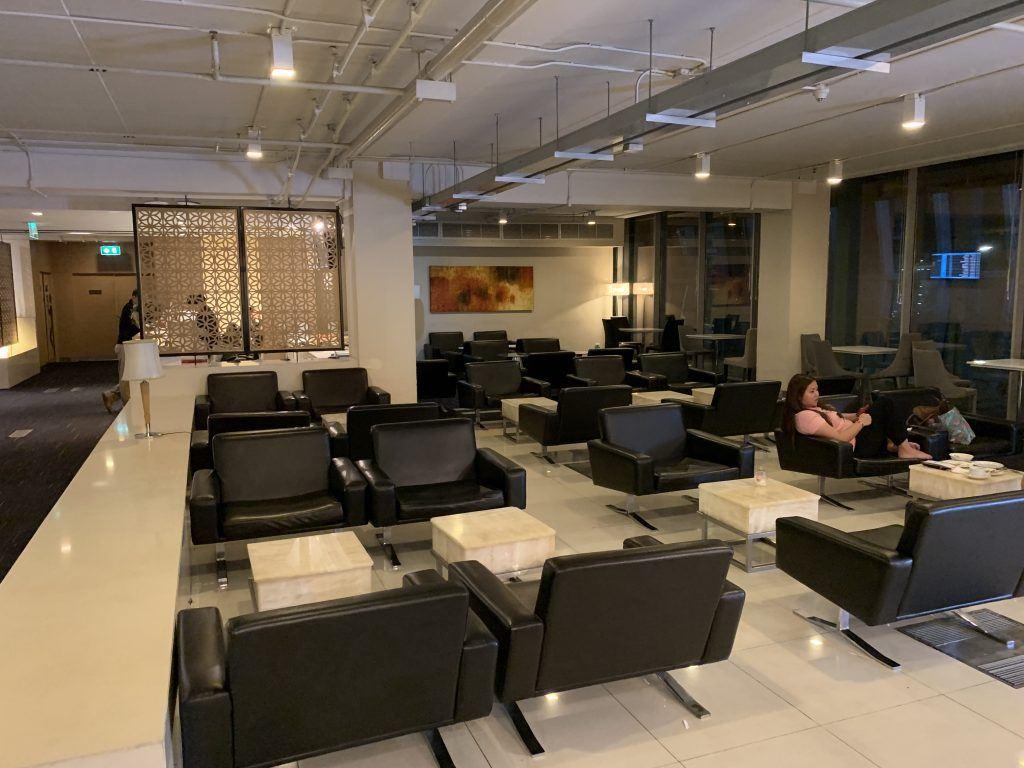 BKK Priority Pass Lounge Seating