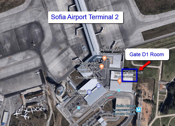 Bulgaria Air Domestic D1 Gate
