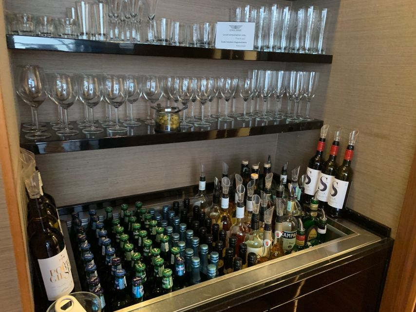 Budapest Priority Pass Platinum Lounge Alcohol