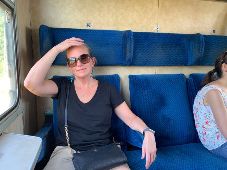 Bulgarian Train Compartment Hot