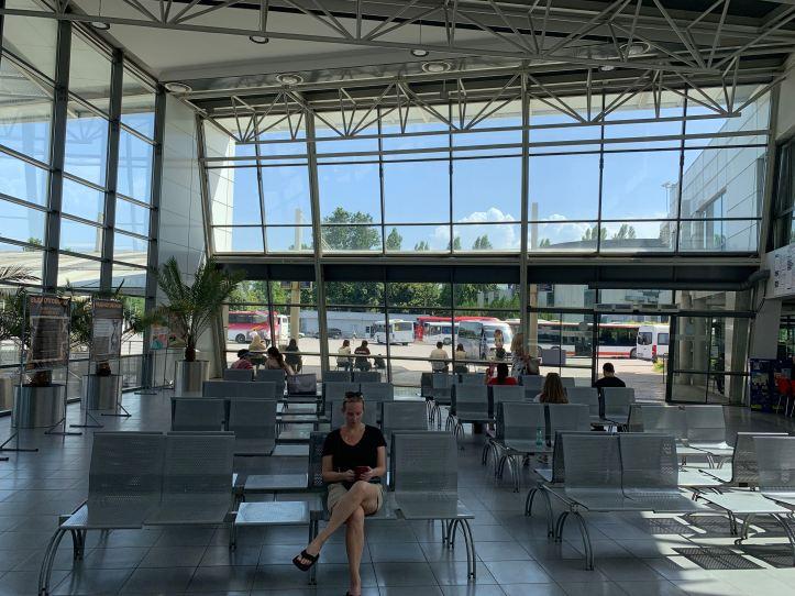 Bus Terminal Plovdiv Bulgaria