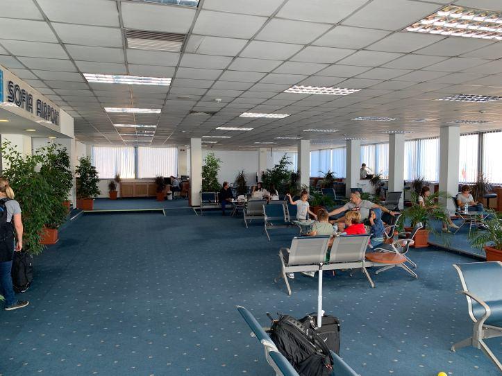 Priority Pass Lounge Sofia Terminal 1 Seating Area