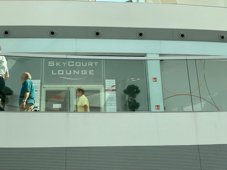 SkyCourt Lounge Budapest Terminal 2