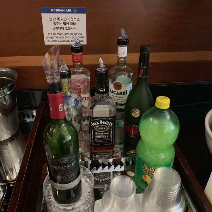 Liquor JFK Terminal 1 Priority Pass Lounge