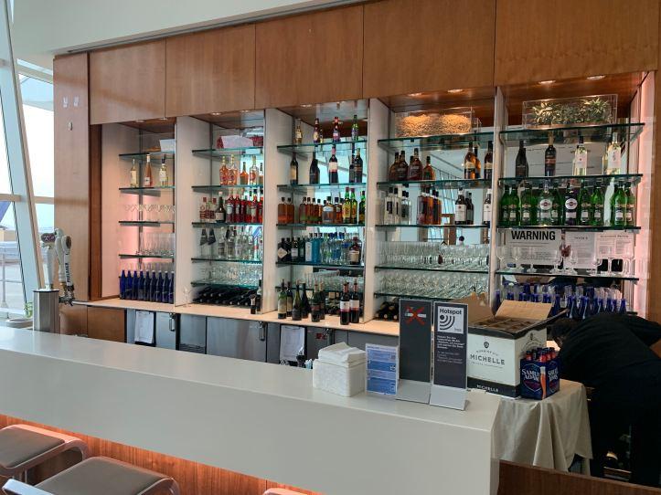 Lufthansa Senator Lounge JFK Terminal 1 Bar