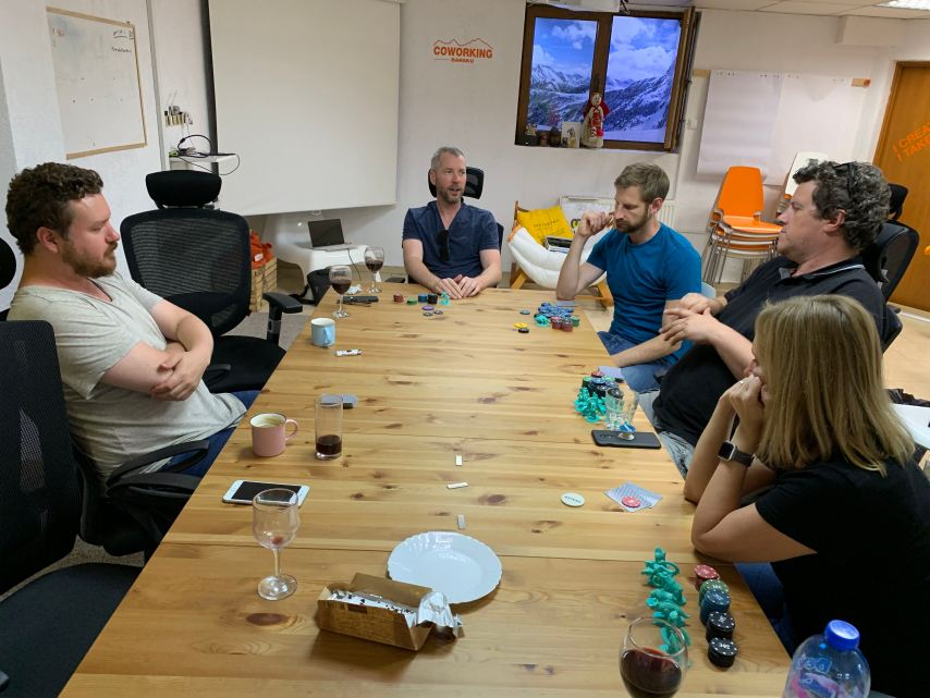 Poker Night Coworking Bansko