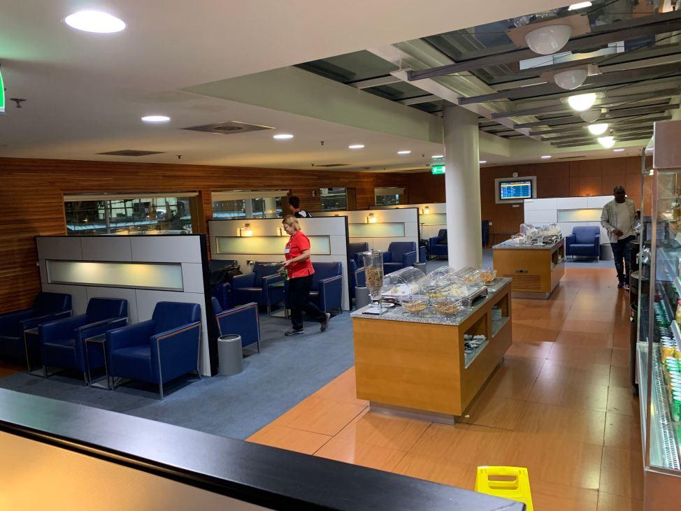 Priority Pass Lounge Porto Seating Area