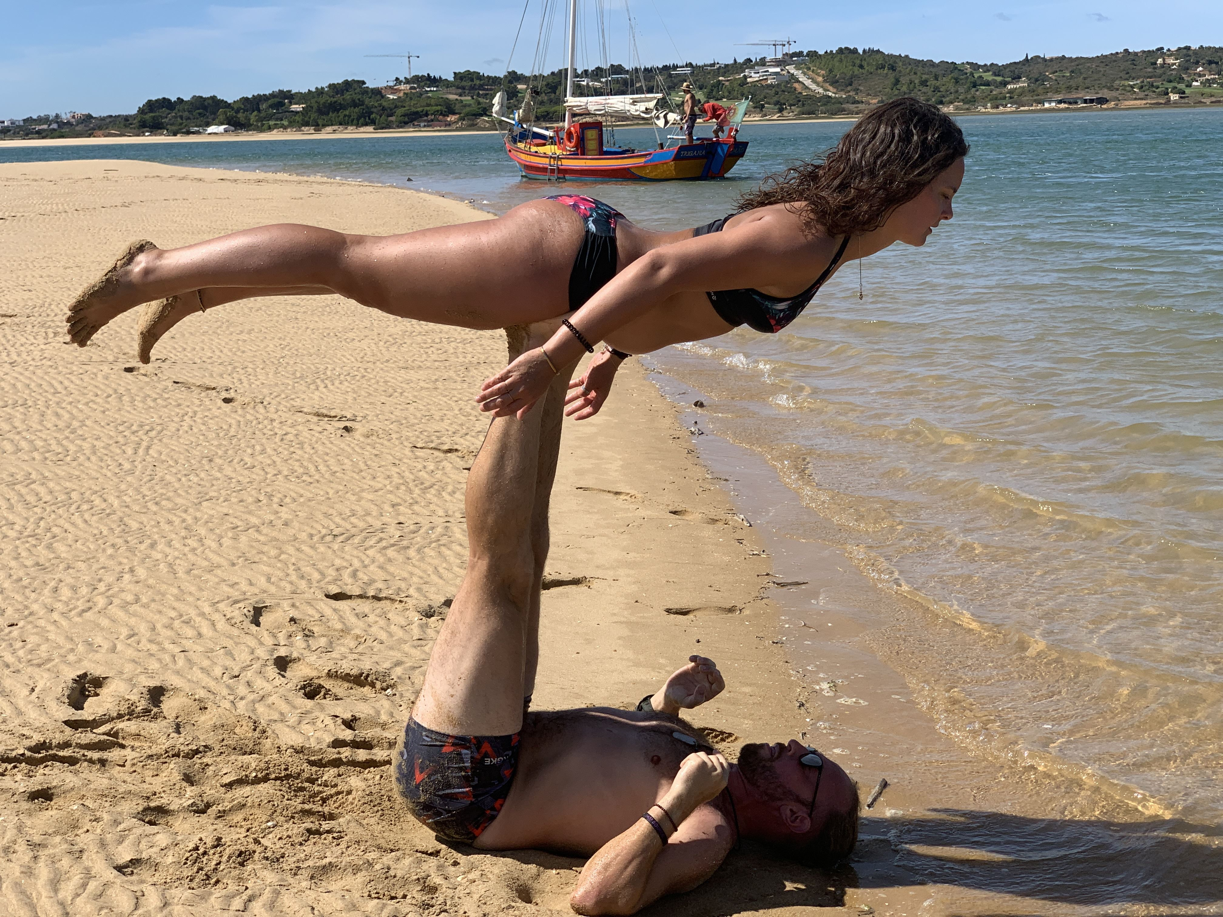 Acro Yoga Algarve Portugal