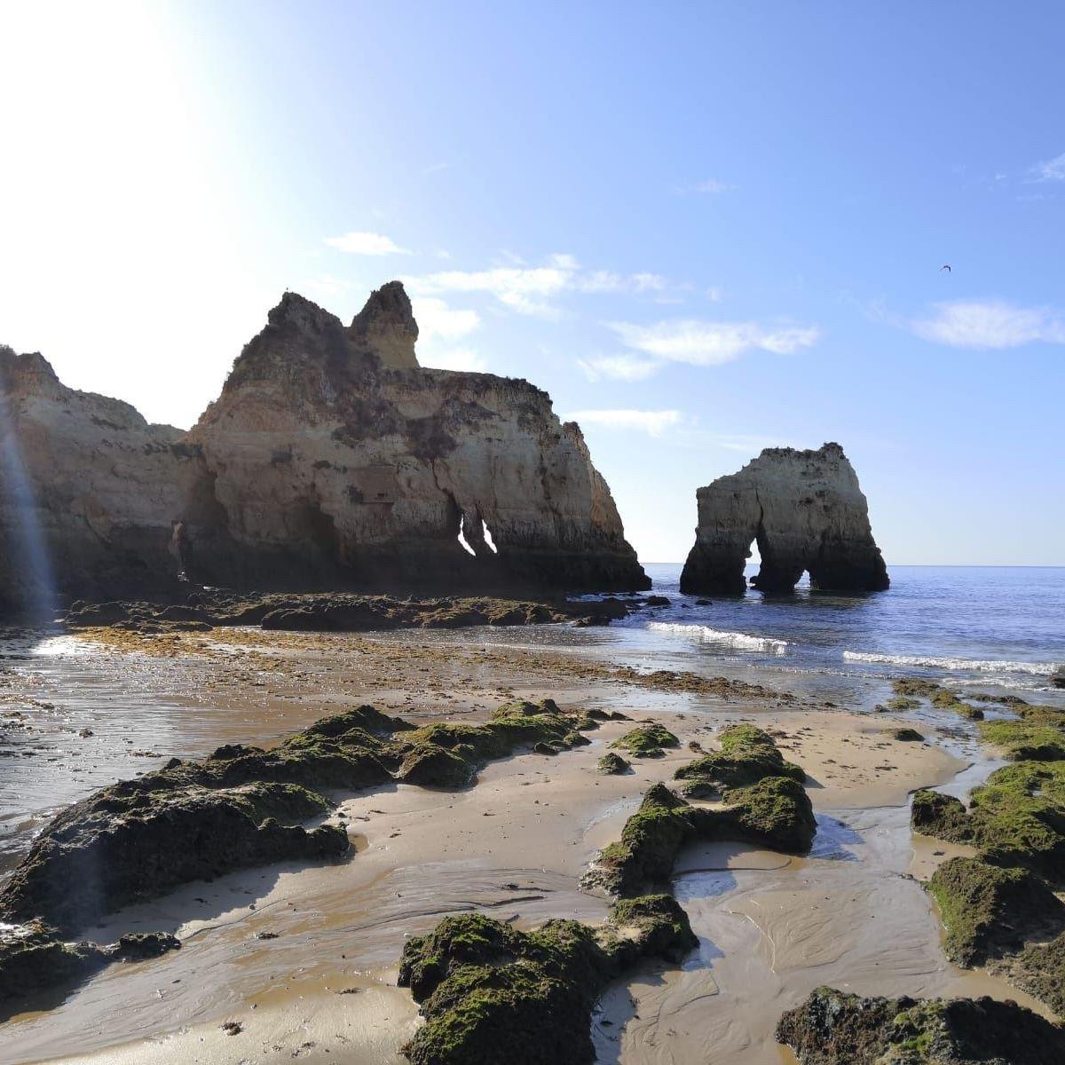 campervan retreat praia das furnas algarve cave vanlife portugal