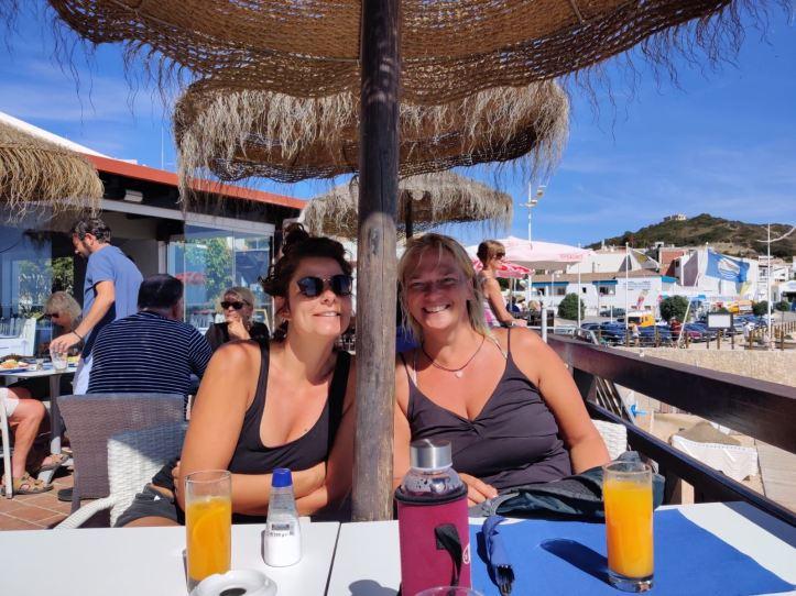 Aperol Spritz at Salema Beach