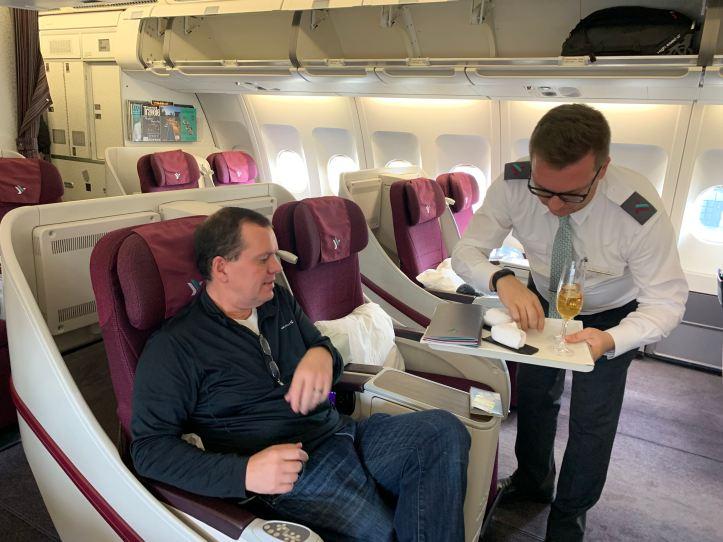 Air Italy Pre Departure Service