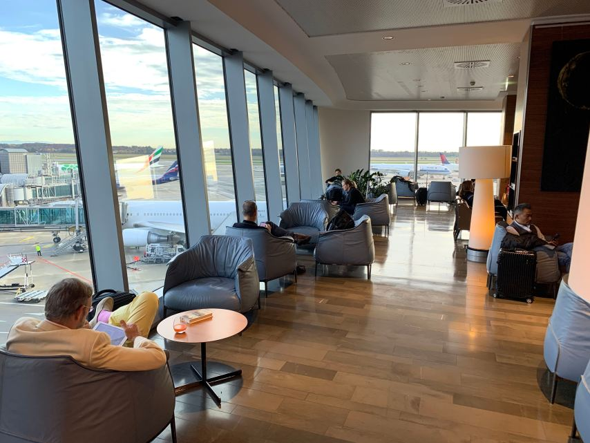 Priority Pass Lounge Malpensa Airport Terminal 1 Sala Seating