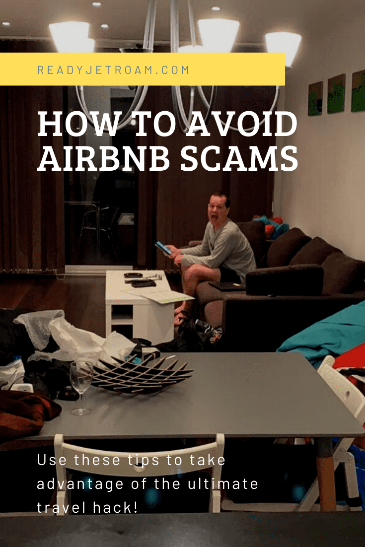 How to avoid AirBnB Scams