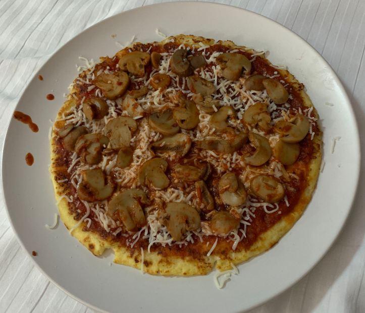 Fat Head Keto Diet Pizza in Jamaica
