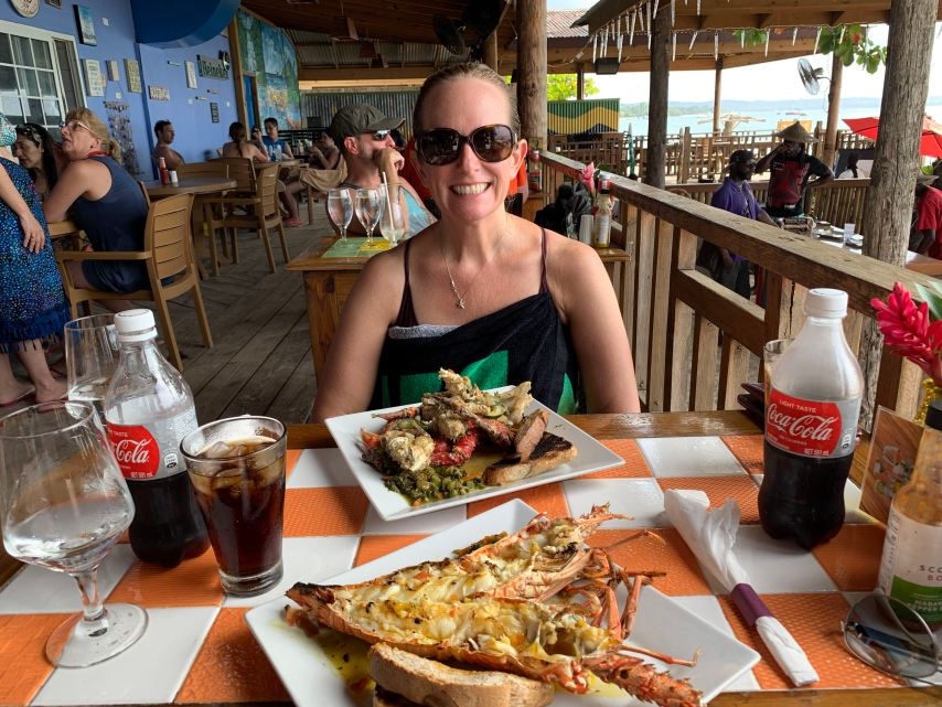 Keto in Jamaica Fireman's Lobster Pit Negril Jamaica