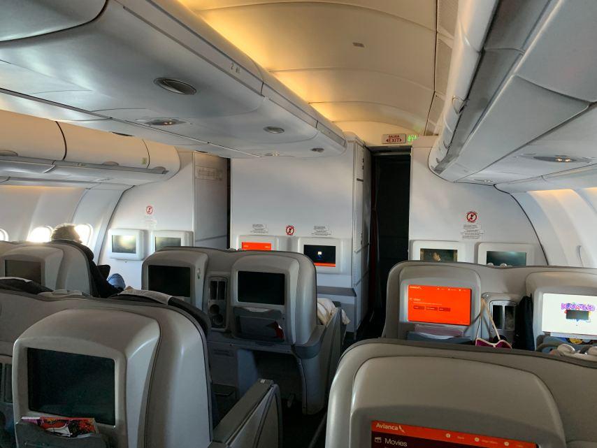 Avianca Business Class A330 Business Class Cabin
