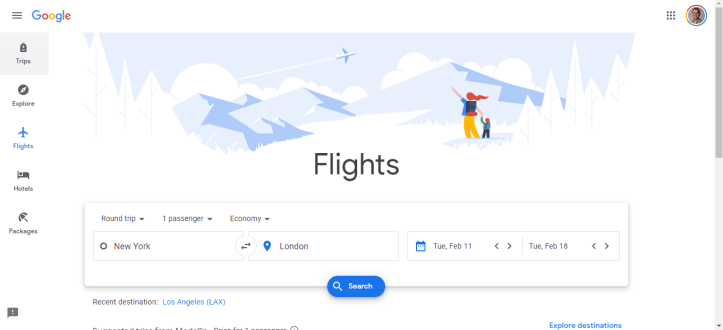 Using Google Flights to Find Cheap Business Class Tickets