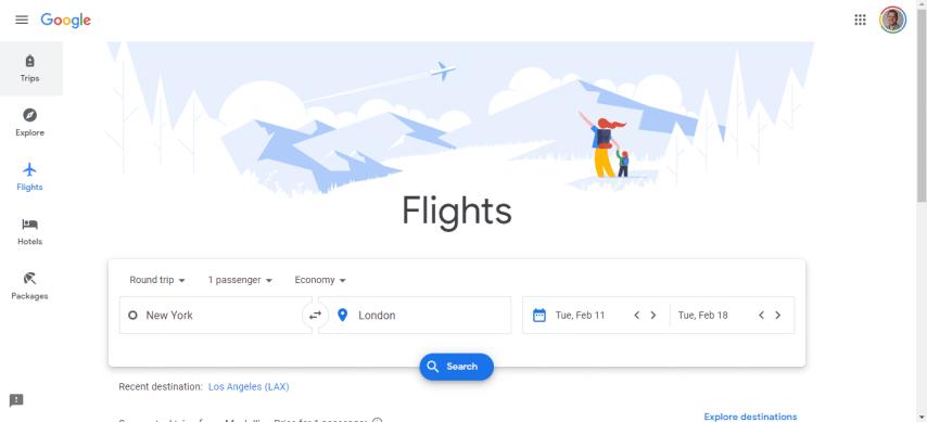 Using Google Flights to Find Cheap Business Class Tickets