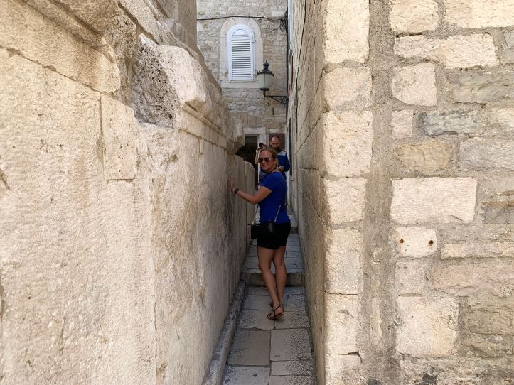 Diocletian's Palace Walking Tour Skinny Street