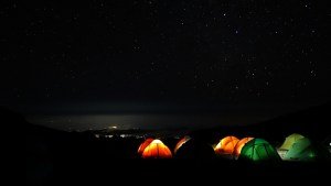 Camp Tents Photo