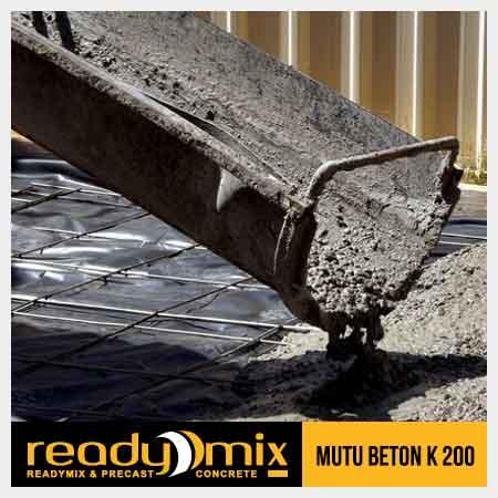 beton mutu k200