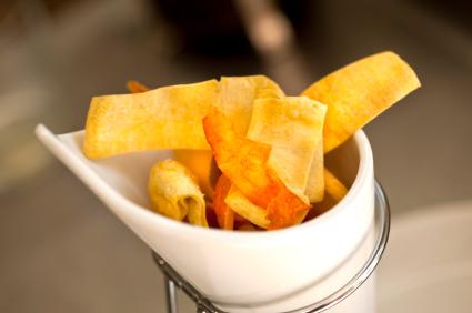 Oven Baked Potato Chips