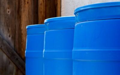 5 Short Term Methods to Store Water