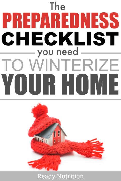 Winterizing your home before those blustery winter days can better protect it and those inside. Use this checklist to get prepped!