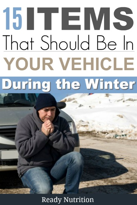 Winter brings about erratic weather patterns and chances are that we may be caught in them while we are driving. Having an emergency kit in our vehicles will help to ensure our basic needs are met.