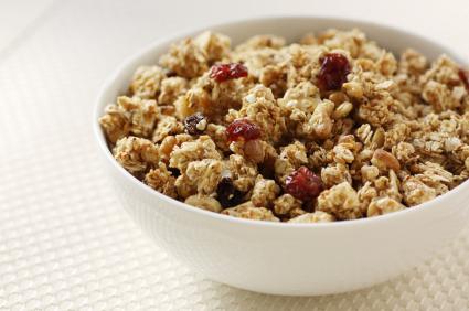 Crunchy Cran-Delight Granola