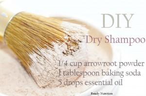 DIY Dry Shampoo For Healthy Hair