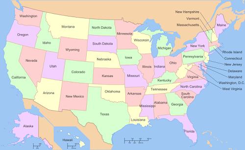 United States Map1