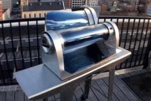 New Solar Stove Is Capable of Cooking at Night