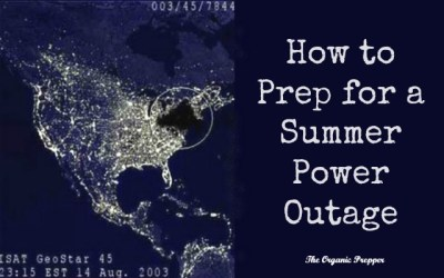 How to Prep for a Summer Power Outage