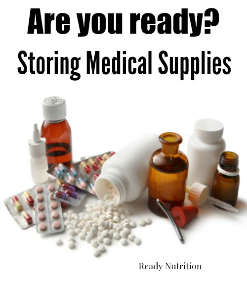 Storing Medical Supplies to be Ready