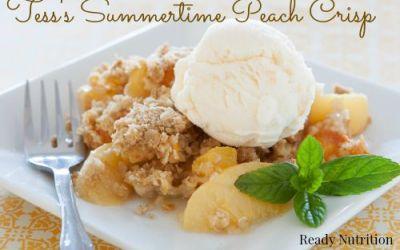 Tess's Summertime Peach Crisp