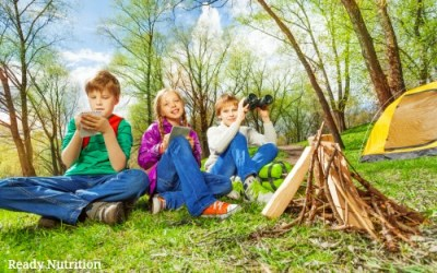 Back to Nature: 5 Tips for Getting Your Kids Outdoors