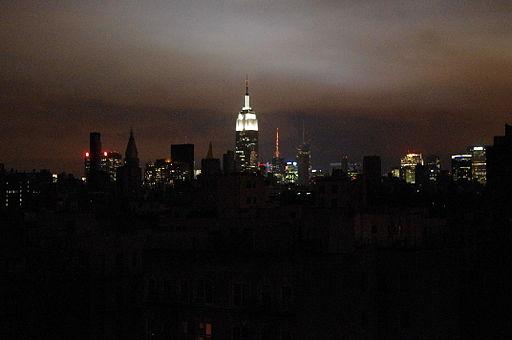 Blackout Hurricane Sandy
